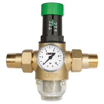 """HERZ víznyomáscsökkentő előszűrővel (1"""")"""