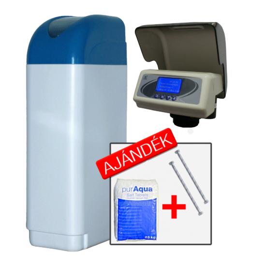 Euro-Clear BlueSoft-Eco-K90-VB34 intelligens 6 nyelvű háztartási vízlágyító berendezés