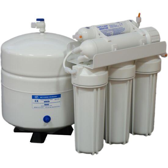 BlueClear-RO-100 Fordított ozmózis elvű háztartási víztisztító berendezés csapteleppel