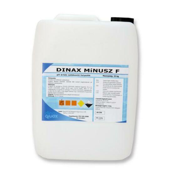 Mínusz F 25 kg-os pH érték csökkentő szer